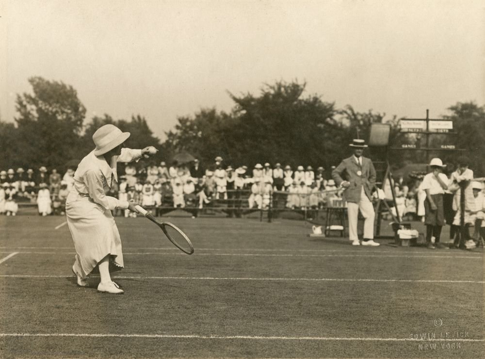 Mary Brown first women's invitational 1920